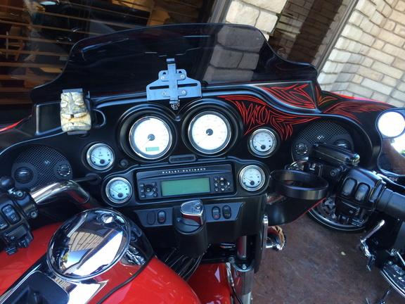 Road Glide Inner Fairing Pinstriping: 2015 Harley Davidson